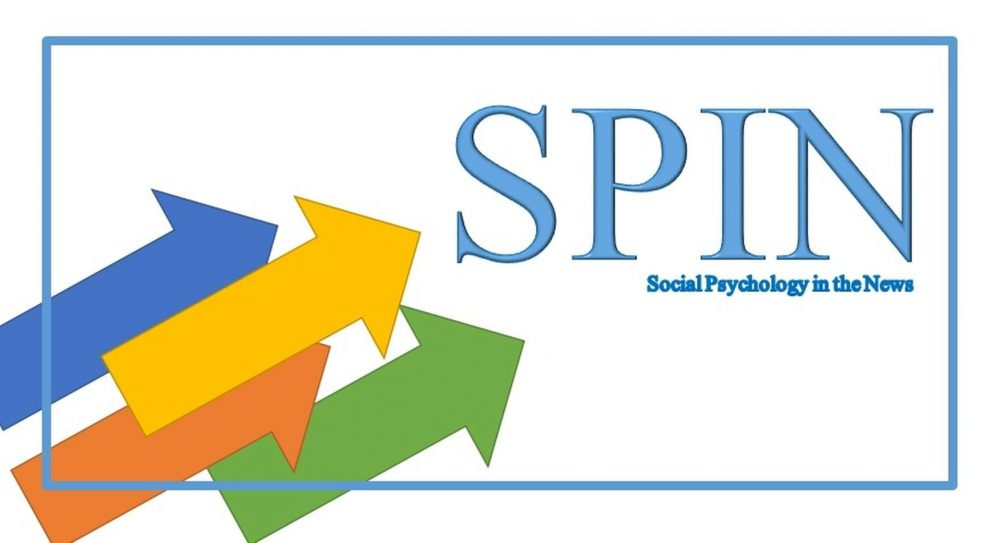SOCIAL PSYCHOLOGY IN THE NEWS